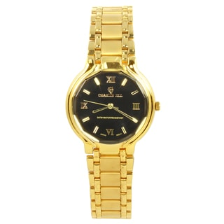 Charlie Jill Women's 'Miss Royal' Goldtone Watch