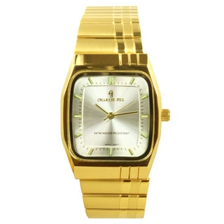 Charlie Jill Women's Goldtone Silver Dial Watch