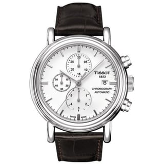Tissot Men's 'Carson' White Dial Automatic Chronograph Watch