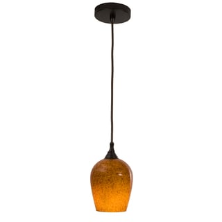 Aurora Dark Bronze One-Light Pendant