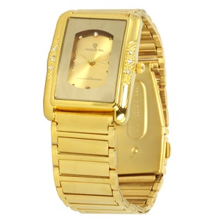 Charlie Jill 'Imperial' Unisex Goldtone Steel Watch