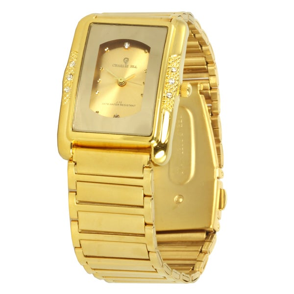 Charlie Jill 'Imperial' Unisex Goldtone Steel Watch