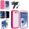 BasAcc Case/ Screen Protectors/ Charger for Samsung Galaxy S3