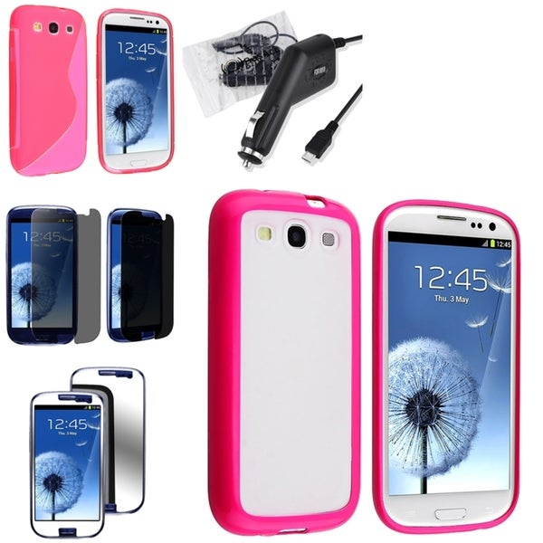 BasAcc Case/ Screen Protectors/ Charger for Samsung© Galaxy S3