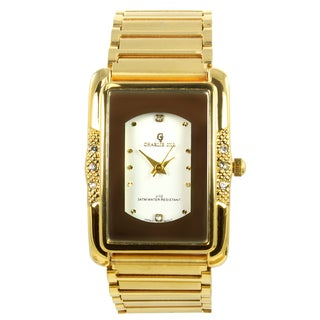 Charlie Jill Men's 'Imperial' Goldtone Watch