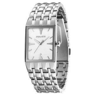 Police Women's Stainless Steel White Dial Quartz Watch