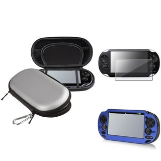INSTEN Aluminum Case Cover/ EVA Case Cover/ Protector for Sony Playstation Vita