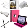 BasAcc BasAcc Case/ Screen Protector/ Chargers/ Headset for Apple� iPad 3/ 4