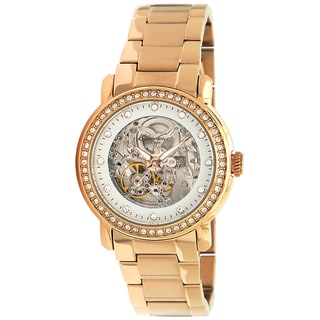Kenneth Cole Women's Automatics Gold Steel Gold Dial Watch