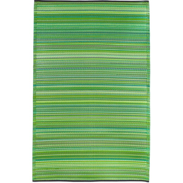 Prater Mills Indoor/ OutdoorReversible Green Rug
