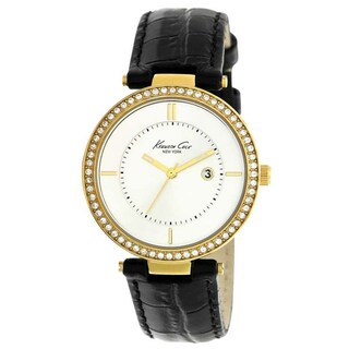 Kenneth Cole Women's KC2675 Classic Round Brown Strap Watch