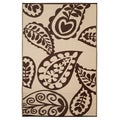 Prater Mills Indoor/ Outdoor Reversible Beige/ Brown Rug
