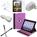 BasAcc BasAcc Case/ Screen Protector/ Chargers/ Stylus for Apple� iPad 2/ 3/ 4