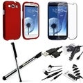 BasAcc Case/ Screen Protector/ Chargers/ Wrap for Samsung Galaxy S3