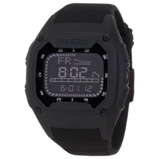Freestyle Men's 'Shark' Black Polyurethane Quartz Watch