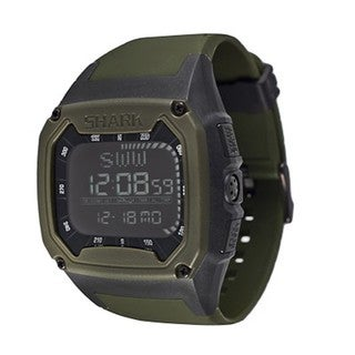 Freestyle Men's Shark Digital Green Polyurethane Quartz Watch