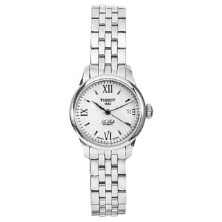 Tissot Women's 'Le Locle' Silver Dial Automatic Steel Watch