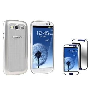 BasAcc Aluminum Case/ Screen Protector for Samsung Galaxy S III/ S3