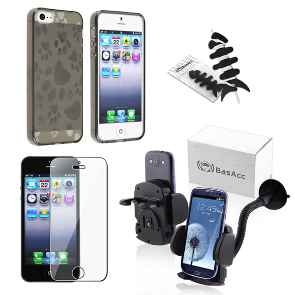 BasAcc Case/ Protector/ Windshield Mount/ Wrap for Apple iPhone 5