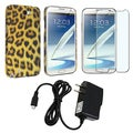 BasAcc Case/ Protector/ Charger for Samsung Galaxy Note II N7100
