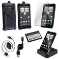 BasAcc Battery/ Charger/ Cable/ Protector/ Case for HTC Evo 4G