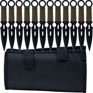 Whetstone S-Force Kunai Throwing Knives (Set of 12)
