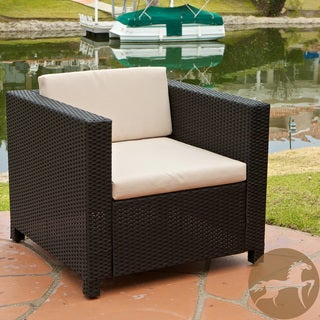 Bahamas Outdoor Tan Cushions Club Chair
