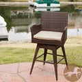 Braxton PE Swivel Armed Barstool