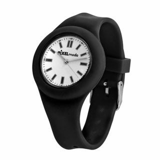 Zero Collection by Pixelmoda Kids' Black Strap Watch