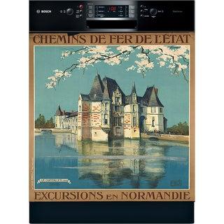 Appliance Art Normandy France Vintage Dishwasher Cover