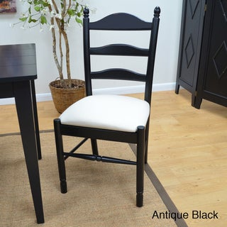 Gwen Upholstered Ladder Back Chair
