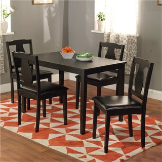 Black 5-piece Kaylee Dining Set