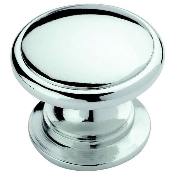 Amerock Traditional Polished Chrome Cabinet Knob (Set of 5)
