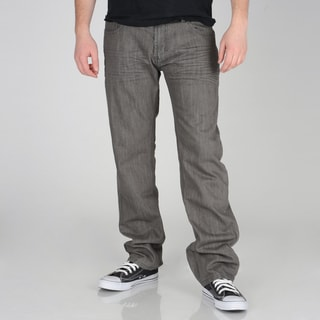 X-Ray Jeans Men&#39;s Grey Denim Skinny Jeans