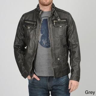 X-RAY Jeans Men's PU Moto Jacket