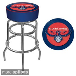 Officially Licensed NBA Padded Swivel Bar Stool