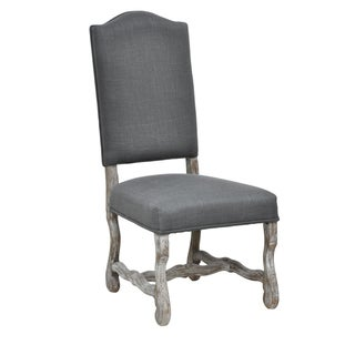 Casper Distressed Grey Oak Side Chair