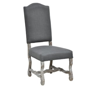Kosas Home Casper Distressed Grey Oak Side Chair