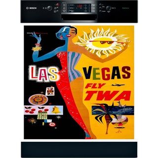 Appliance Art 'Las Vegas' Vintage Dishwasher Cover
