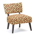 Frisbee Cardinal Metro Accent Chair