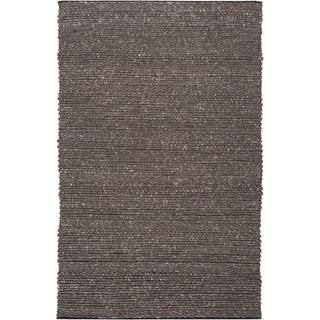 Hand-woven Flat-Weave Mandara Wool Area Rug (5' x 7'6)