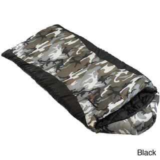 Ledge Sports Gunny Sack 0-degree F Youth Rectangular Mummy Hood Sleeping Bag