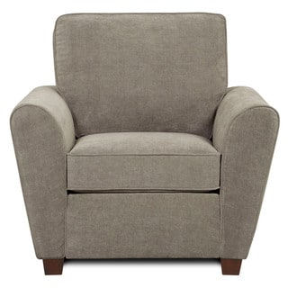 Newport Furniture &#39;Hobbs&#39; Grey Chenille Chair