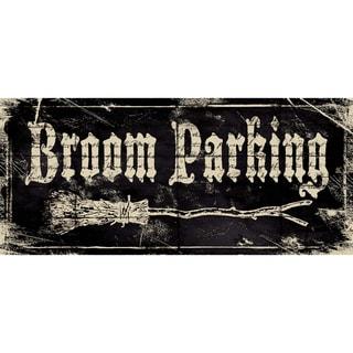 Stephanie Marrott 'Broom Parking' Paper Print (Unframed)