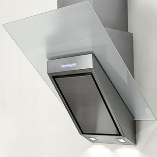 NT AIR Stainless Steel/ White Glass 36-inch Range Hood