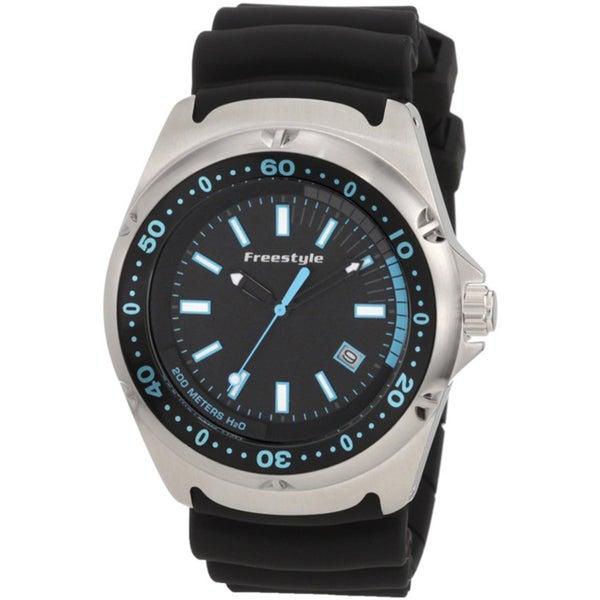 Freestyle Men's 'Hammerhead' Black/ Blue Watch