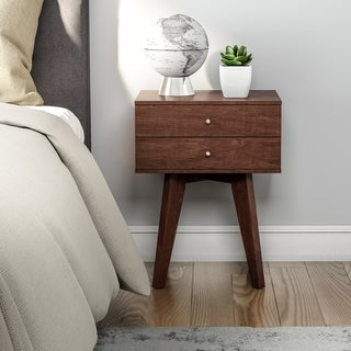 Jones Wenge 2-drawer Nightstand