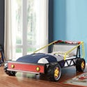 Kiran Toddler's Red Race Car Twin-size Plateform Bed