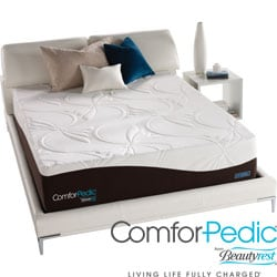 ComforPedic from Beautyrest New Life Plush Firm Mattress Set
