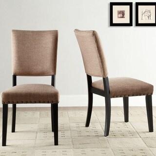 Presidio Rustic Brown Vintage Industrial Modern Dining Chair (Set of 2)